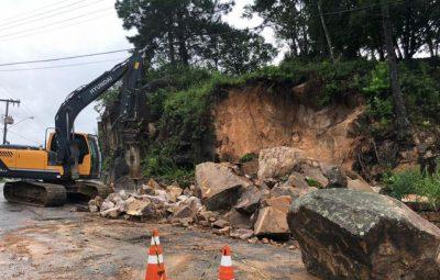 chuvas florianopolis 400x255 - Chuvas provocam alagamentos e deslizamentos em Florianópolis
