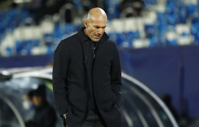 zidane tecnico real madrid 400x255 - Zidane é diagnosticado com o novo coronavírus, diz Real Madrid