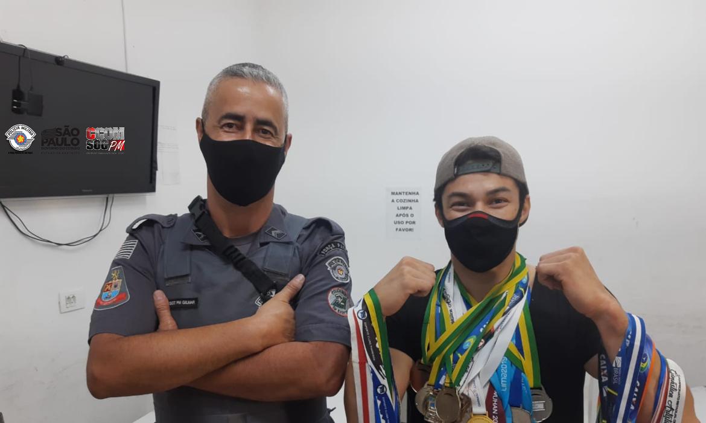 Arthur Nory recupera medalhas furtadas após denúncia e ação PMESP