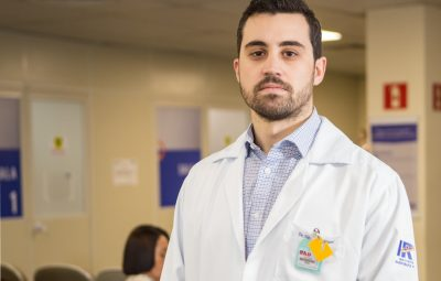 Dr Guilherme Rebello 400x255 - Médico recomenda que pessoas com câncer usem duas máscaras contra a Covid-19