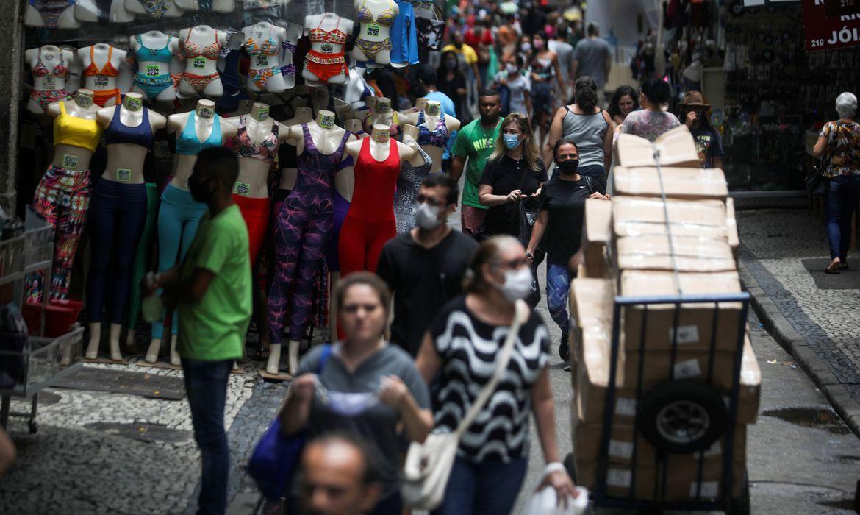 IBGE: vendas do comércio varejista crescem 1,2% em 2020