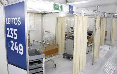 o hospital de campanha lagoa barra santos fc1908200886 400x255 - Fiocruz: UTIs lotadas podem elevar média de vítimas de covid-19