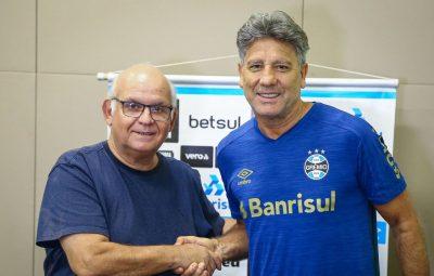 renato portaluppi renova com gremio 400x255 - Grêmio confirma renovação com Renato Portaluppi para 2021