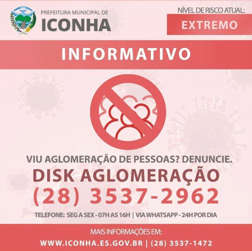 Em risco extremo comércio de Iconha só poderá abrir três dias por semana