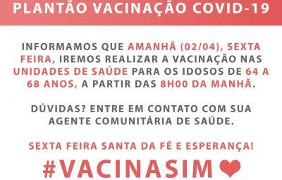 WhatsApp Image 2021 04 01 at 14.11.20 400x255 - Sexta-feira (02) é dia de vacinação contra a Covid-19 em Iconha