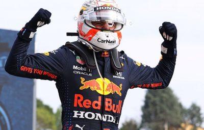 max verstappen vence imola 400x255 - Verstappen vence caótico GP de Ímola, mas Hamilton continua na frente