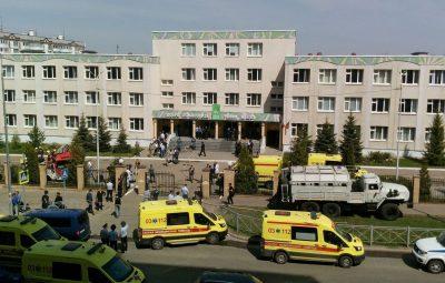 escoa Russia 400x255 - Tiroteio deixa pelo menos 11 mortos em escola na Rússia