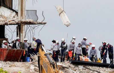 EUA diminui esperanca de encontrar desaparecidos em queda de predio 400x255 - EUA: diminui esperança de encontrar desaparecidos em queda de prédio