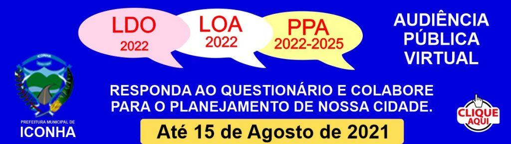 WhatsApp Image 2021 07 17 at 12.45.35 1024x290 - Prefeitura começa a receber propostas e reivindicações da população para elaborar LDO, LOA 2022 e PPA 2022-2025