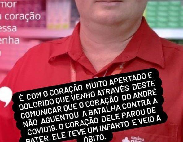 WhatsApp Image 2021 07 20 at 08.04.08 591x460 - Gerente de farmacia em Iconha morre vítima do coronavírus