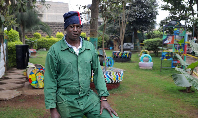 Morador transforma lixão em jardim público e conscientiza comunidade