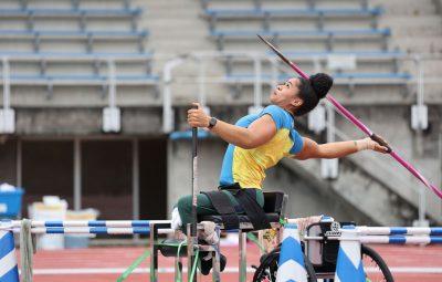 Raissa Machado leva prata no lancamento de dardo em Toquio 400x255 - Raíssa Machado leva prata no lançamento de dardo em Tóquio