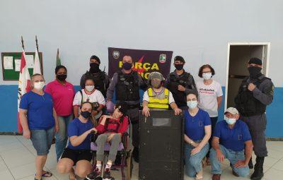 Release 033.1 400x255 - PM VISITA ASSOCIAÇÃO PESTALOZZI DE ICONHA