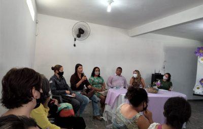 Release 034 400x255 - PM PARTICIPA DE RODA DE CONVERSA SOBRE A LEI MARIA DA PENHA EM PIÚMA
