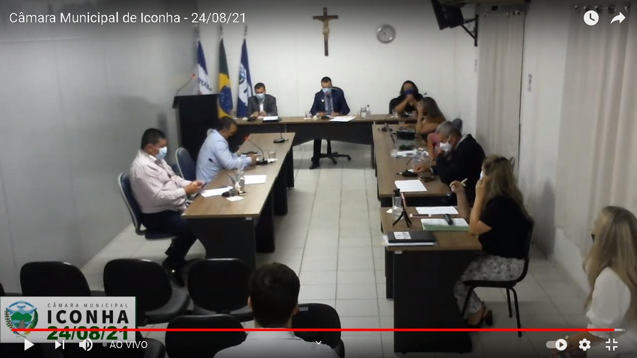 Sessões da Câmara Municipal passam a ser transmitidas pela Rádio Iconha fm