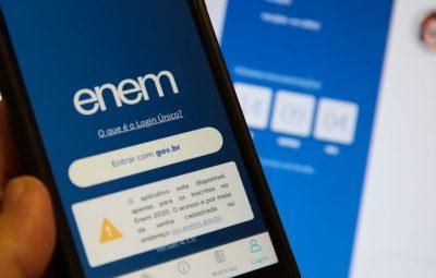 enem aplicativo 30062110004 400x255 - Último dia de inscrição para certificadores do Enem 2021