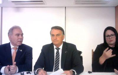 presidente Jair Bolsonaro 400x255 - Presidente Jair Bolsonaro faz apelo para população economizar energia