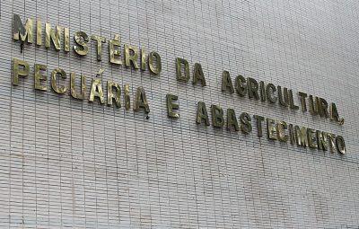 fachada ministerio da agricultura 400x255 - Casos de mal da vaca louca não são risco à produção bovina, diz OIE