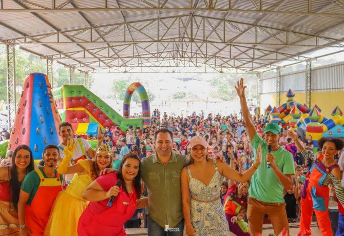 comemoracao do dia das criancas  670x460 - Muita alegria e diversão marcam a comemoração do dia das crianças pela prefeitura de Iconha