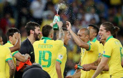 Brasil 400x255 - Brasil confirma favoritismo e vence Copa América contra o Peru