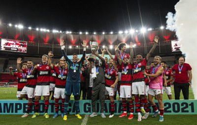 flamengo tacaguanabara21 400x255 - Flamengo é campeão da Taça Guanabara