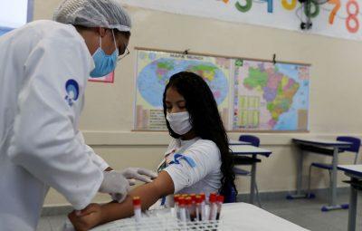 coronavirus brazil 400x255 - Fiocruz investiga transmissão da covid-19 entre crianças e adultos