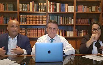 """Bolsonaro 1 400x255 - Ida para novo partido está """"bastante avançada"""", diz Bolsonaro"""