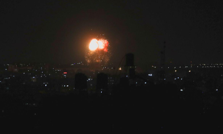 Israel volta a bombardear Gaza após lançamento de balões pelo Hamas