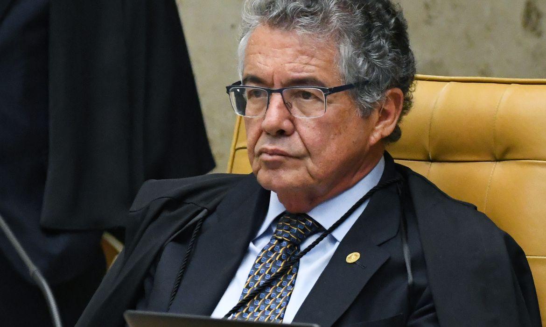 Marco Aurélio participa de última sessão da Primeira Turma do STF