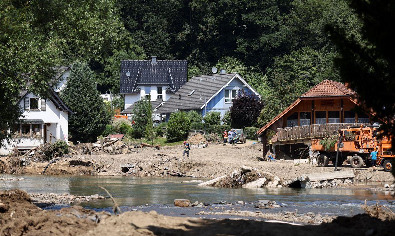 Alemanha cria financiamento para apoiar vítimas de enchentes